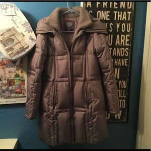 VINCE CAMUTO WOMENS QUILTED DOWN COAT SZ M